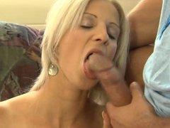 Hot blond girl fucking