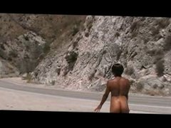 Black Woman Naked in Public