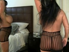 Milf Indiana Jaymes Plays With Her Big Tits