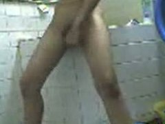 Horny Pinay Asian Masturbate in Bathroom