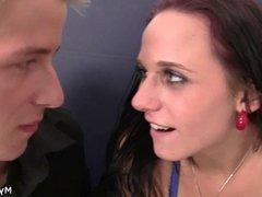 Dirty girl cheats on her man