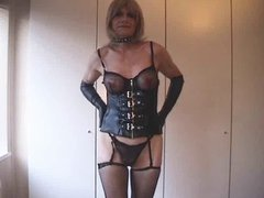 handjob by tranny slave for the mistress