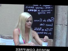 Mofos - Stunning teen Destiny Blonde fucks her BF on camera
