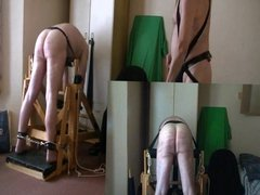 A severe caning