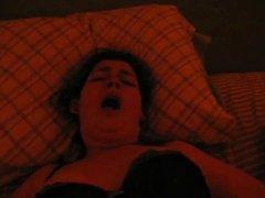 Hairy BBW Rough Orgasm