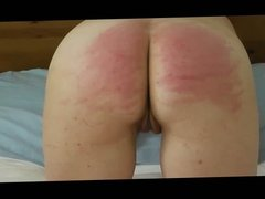Second caning session with whipgirl