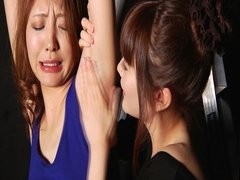 Japanese Spit lesbian