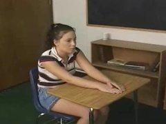 teacher punishes student for bad grades