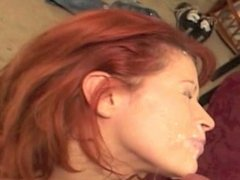 MILF Reluctantly Receives High Velocity Facial
