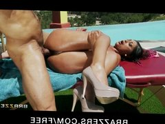 Brazzers- Indian GF Priya Rai is fucked hard by the pool