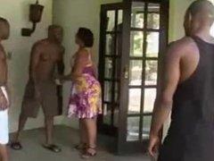 Big Booty Mature Brazilian Woman Fucking