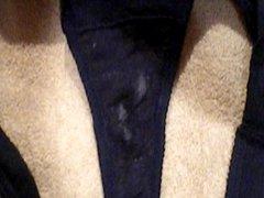 Cumming on my best friend's panties