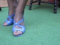 LenaTV25 Spezial Shoeplay Stockings Foot-Fetish S03