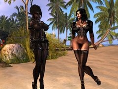 Some of my 600 Second Life Shemale Avatars