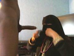 pipe en niqab