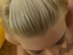 Lisa Rose blowjob in closeup POV