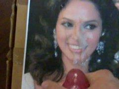 Bollywood cumshot - tribute to Mallika Sherawat
