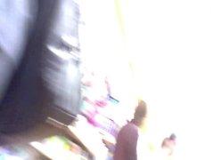 Upskirts in quid shop