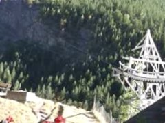 Naomi1 nude in public and blowjob in a cable car