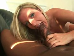 Amateur blonde having sex with her boyfriend