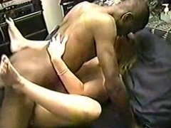 Wife gets a black thug