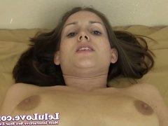 Lelu Love-Submissive Blowjob Creampie For Master