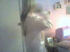 hot girl teasing naked dance