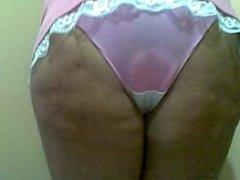 culona de closet en panty