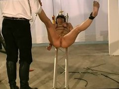 cunt stretching  and tit torture