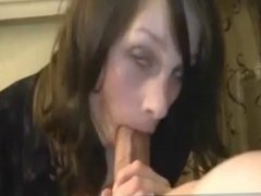 Amateur long cock blowjob