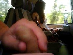 Train Masturbation-she see?