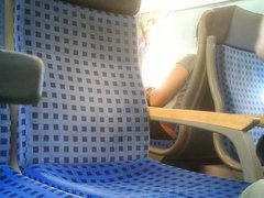 masturbation in train