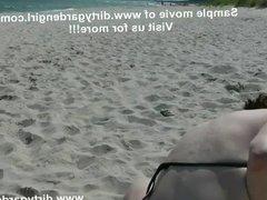 Baltic seaside - Dirtygardengirl public beach prolapse walk