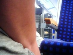 Public Train Cumshot 7