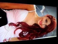 Ariana Grande Cum Tribute No. 3