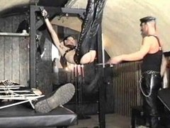 Bottom boys whipped and fucked