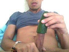 Cucumber Help Me Cum