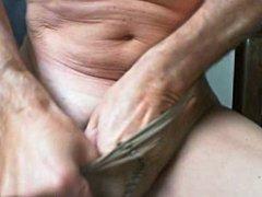 Sheer pantyhose and Flip Hole