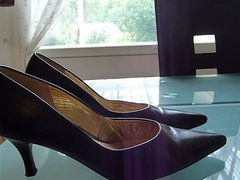 Cum in wifes patent court shoe