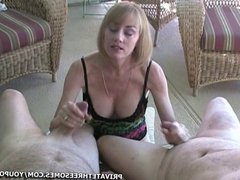 MILF Fucks Two Guys