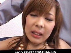 Sakurado Asian babe enjoys a hard fucking