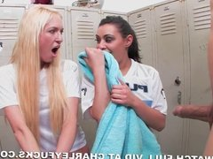 Locker Room BJ With Charley Chase