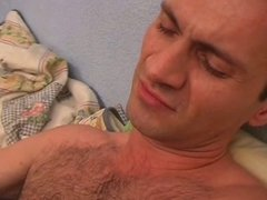 Crazy hairy pussy masturbation and fuck