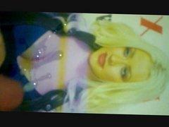 Wanking & Cumming On Christina Aguilera Compilation