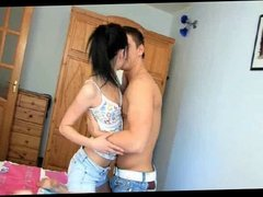 Beautiful Young Couple having good sex