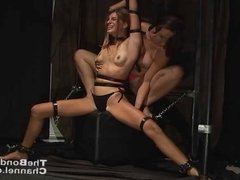 Tied and Tickled lesbian