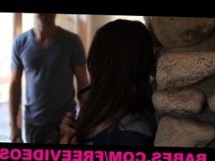 Babes - Passionate young couple love to play around in bed