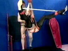 Mature slave suspended analyzed and fisted