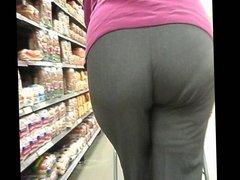 Big Butt Latina Gilf Walking