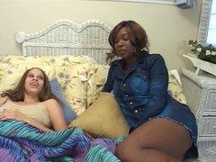 2 Hot Ebony Tender Roni's Go At It...Kyd